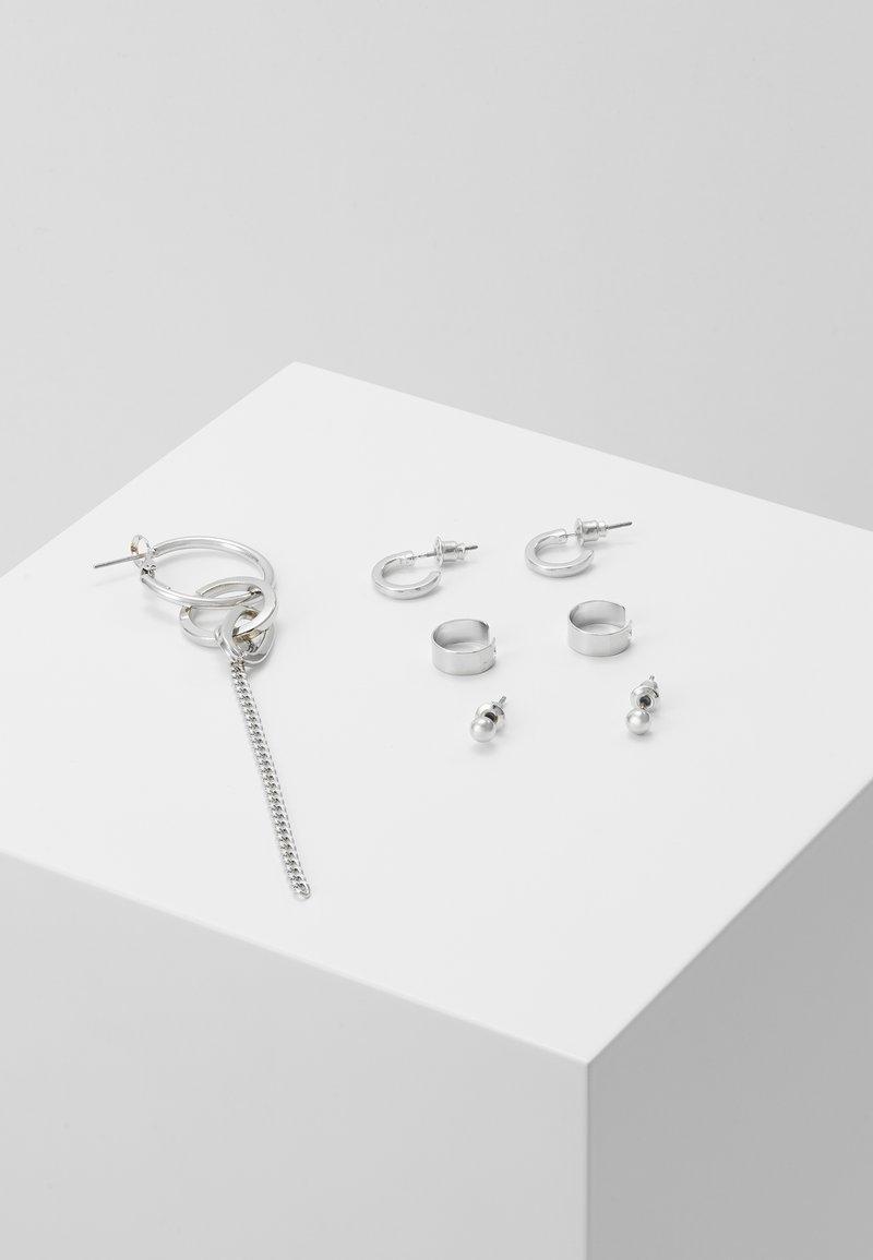 Topshop - URBAN EAR SET - Earrings - silver-coloured