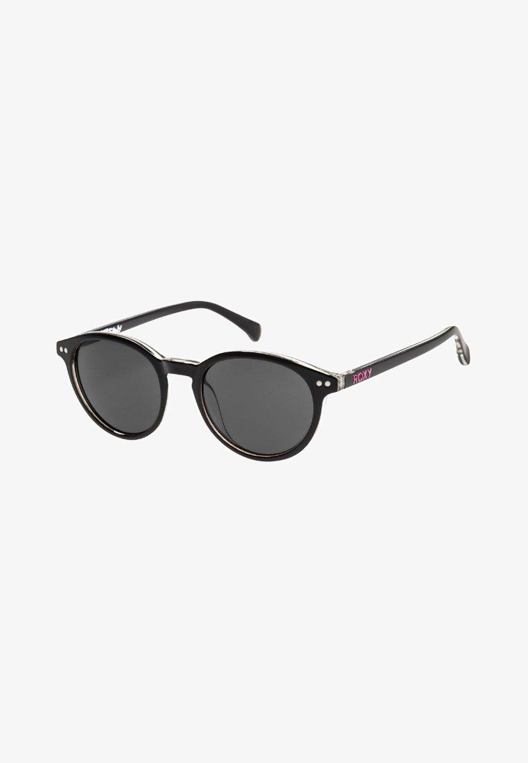 Roxy - STEFANY  - Sunglasses - shiny black white/grey