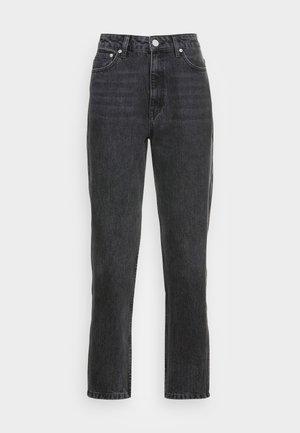 DENA  MOM JEANS  - Straight leg jeans - washed black