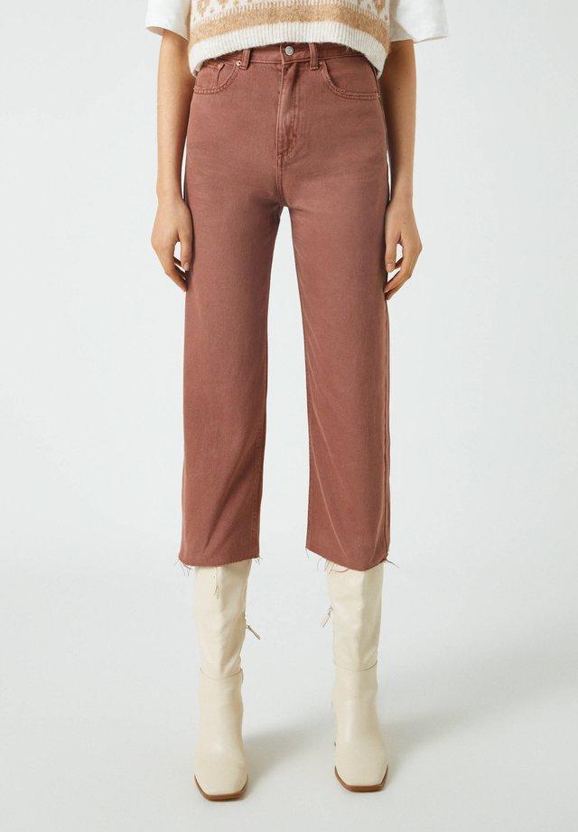 Jeans a zampa - brown