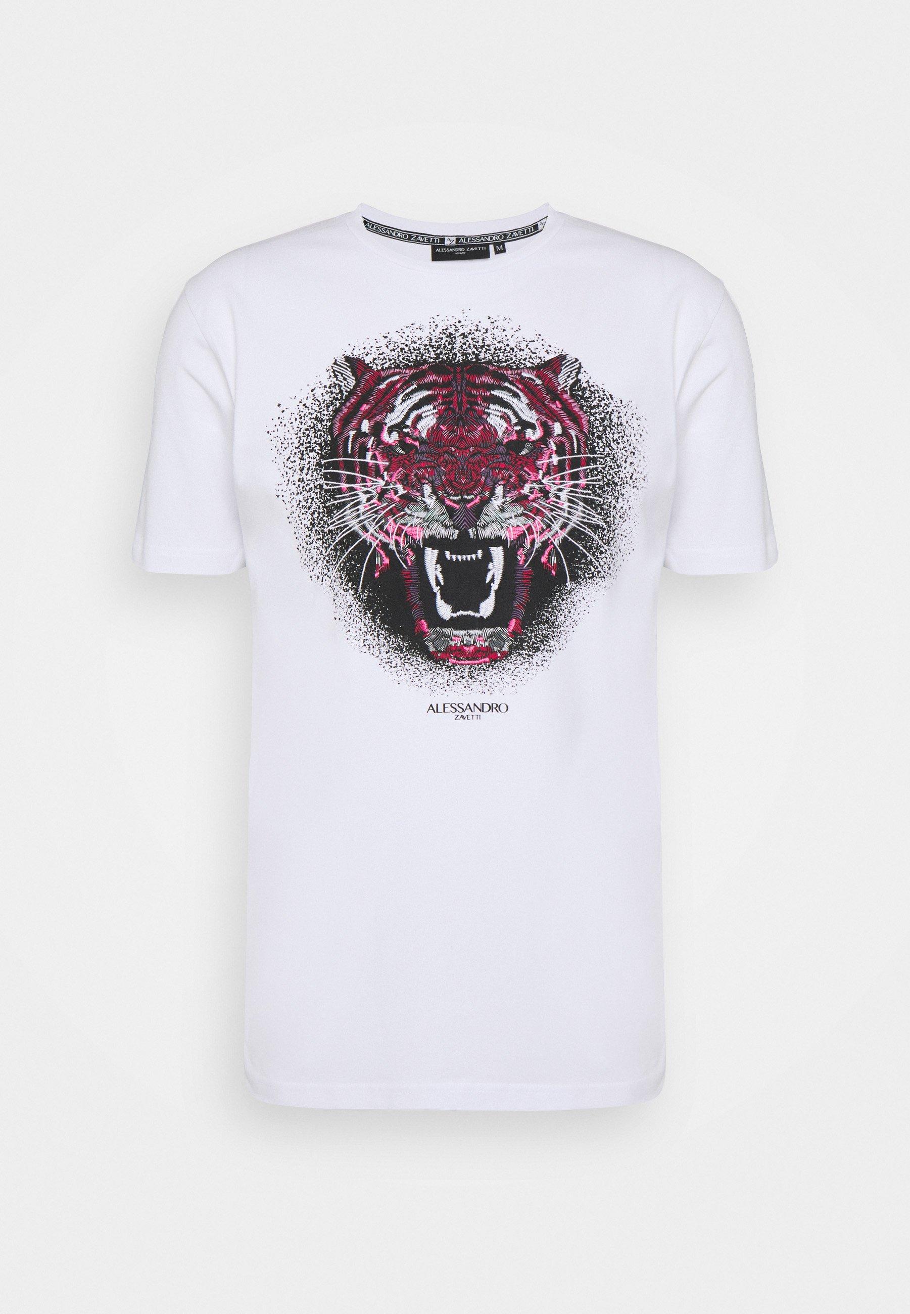 Herren GROWLER RED TEE - T-Shirt print