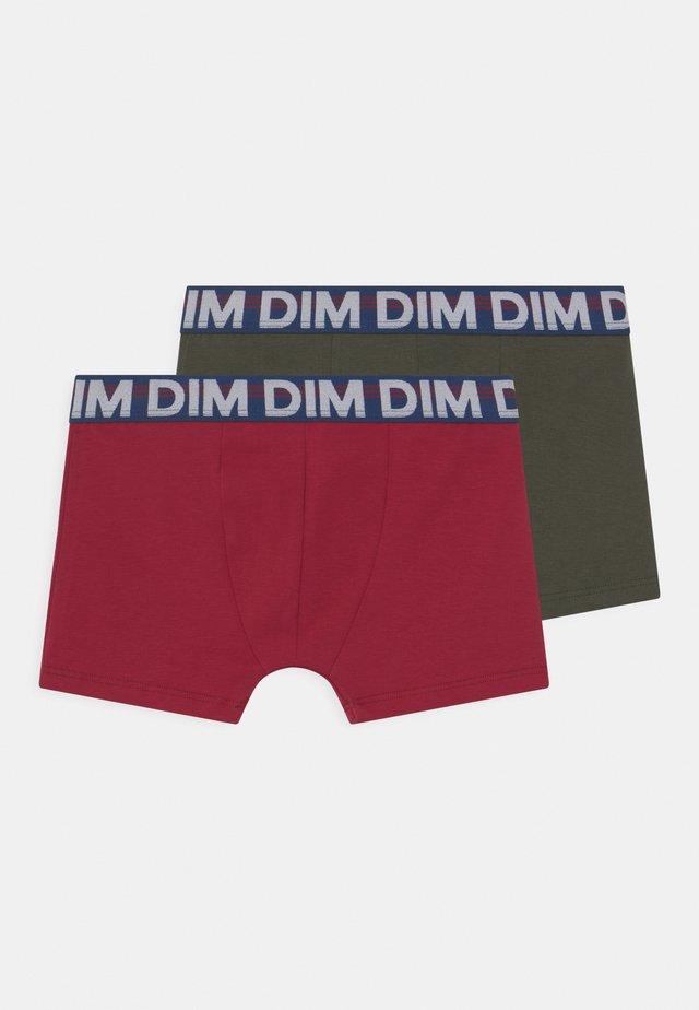 ECODIM 2 PACK - Pants - military green