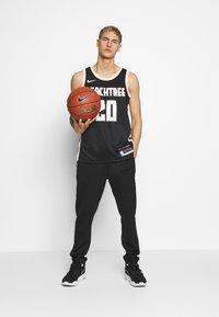 Nike Performance - NBA CITY EDITION ATLANTA HAWKS JOHN COLLINS SWINGMAN - Club wear - black - 1