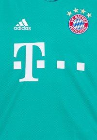 adidas Performance - FC BAYERN MUENCHEN AEROREADY FOOTBALL - Club wear - green - 2