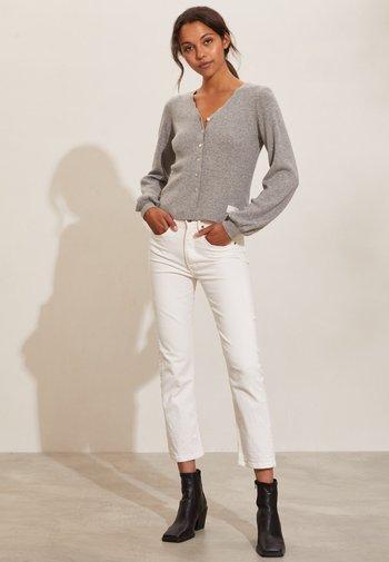 ELANIE - Cardigan - grey melange