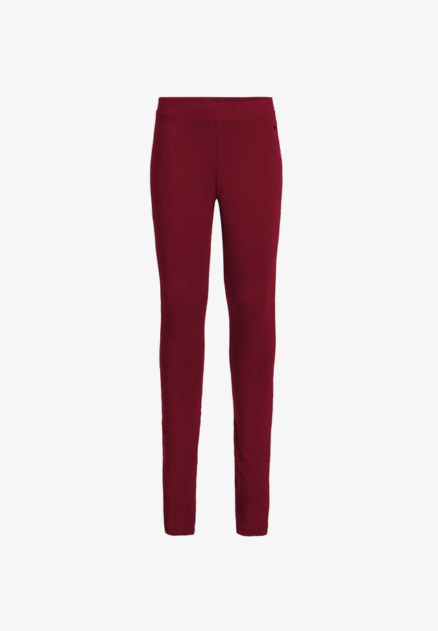 Leggings - Trousers - light red