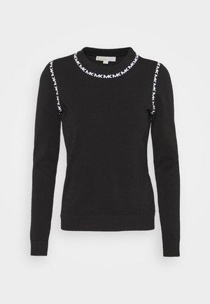 LOGO CREW - Pullover - schwarz