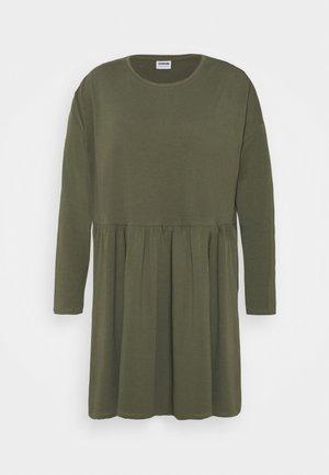 NMKERRY DRESS - Jersey dress - kalamata
