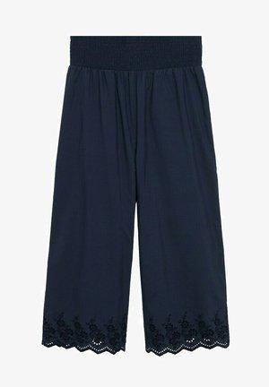 Trousers - dunkles marineblau
