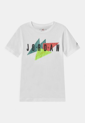 GEO FLIGHT - T-shirt con stampa - white