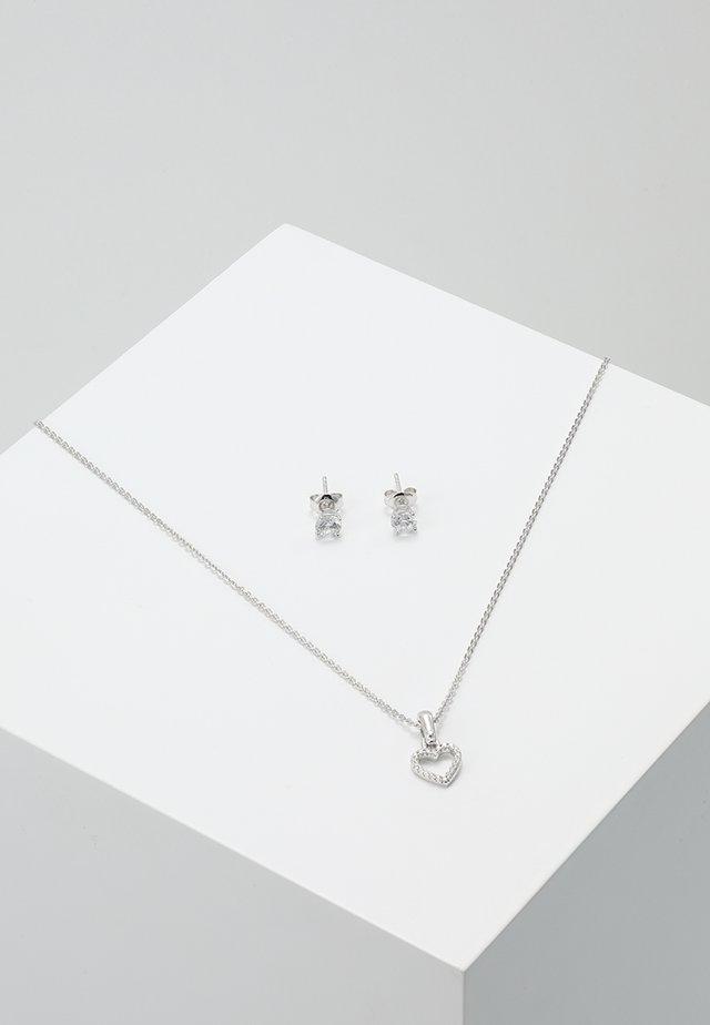 PREMIUM SET - Korvakorut - silver-coloured