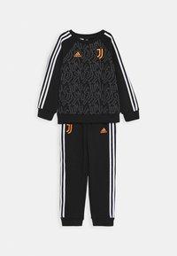 adidas Performance - JUVE SET - Club wear - black/white/apsior - 0