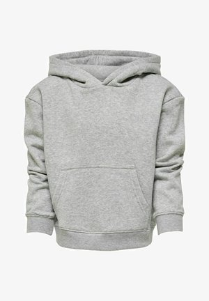 EINFARBIG - Bluza - light grey melange
