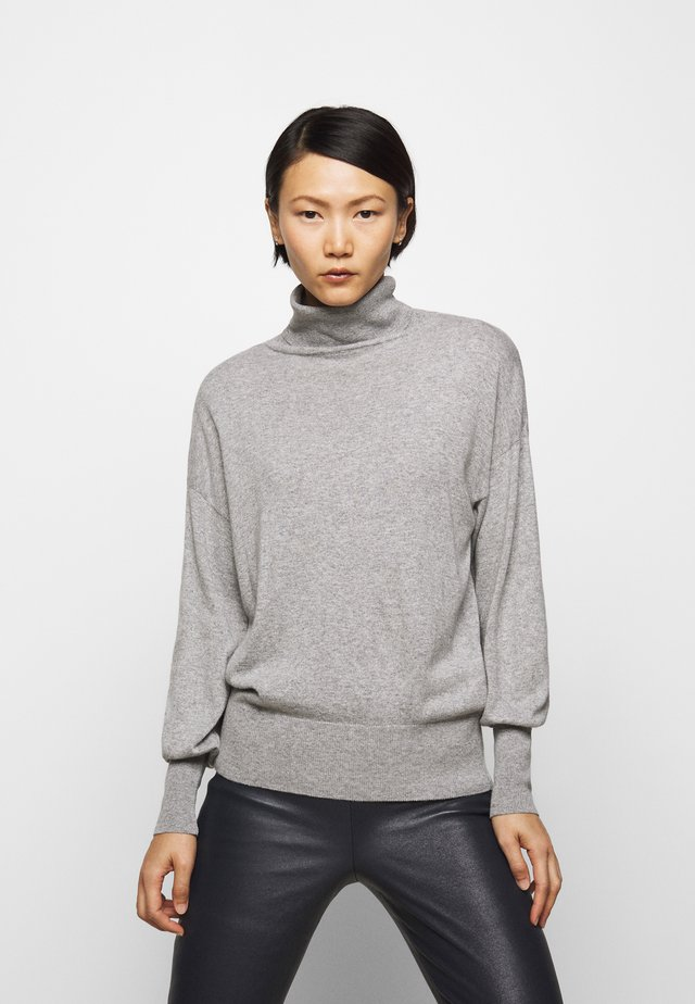 TURTLE NECK - Strickpullover - grey