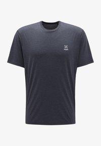Haglöfs - Print T-shirt - true black - 3
