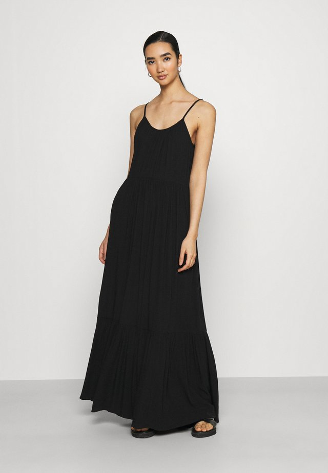 VIMESA STRAP DRESS - Maxi šaty - black