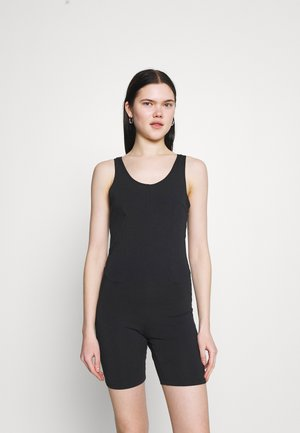 ONE PIECE - Jumpsuit - black/dark smoke grey