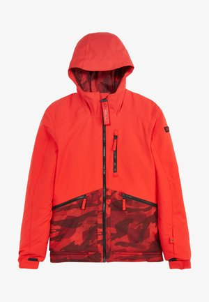 Snowboard jacket - fiery red