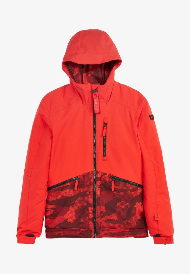 Veste de snowboard - fiery red