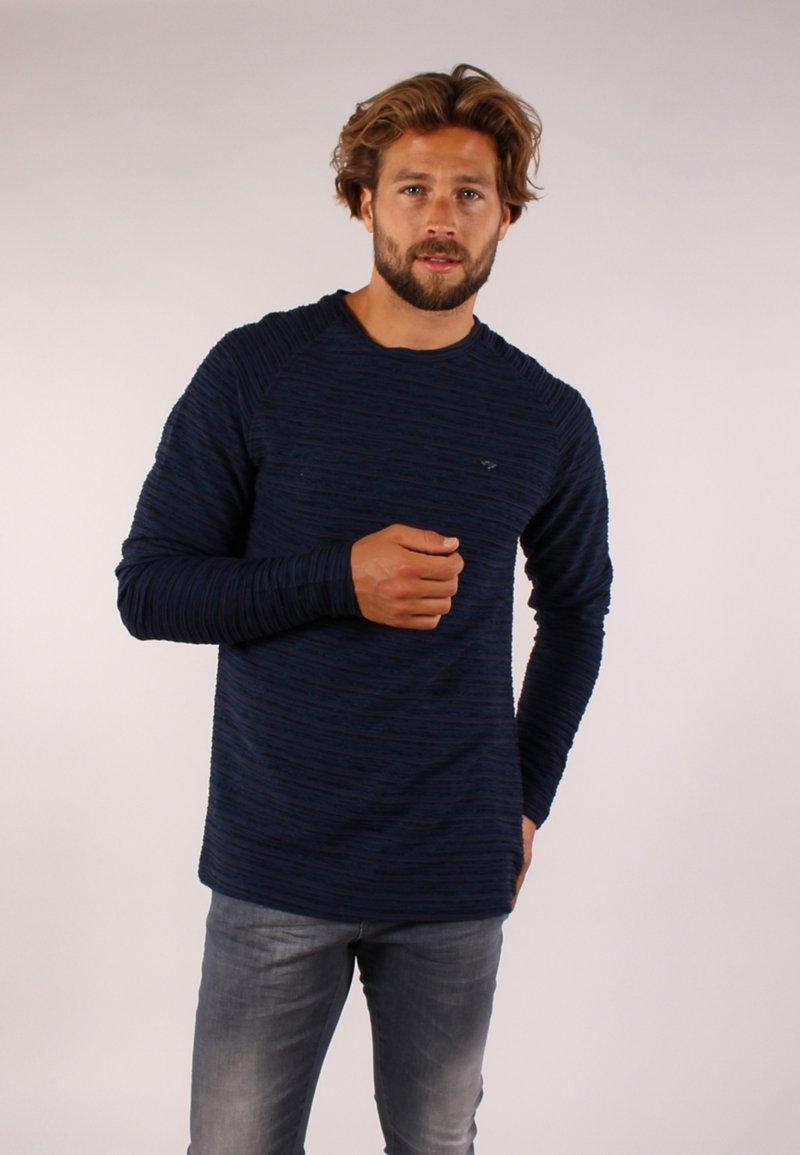 Gabbiano - Långärmad tröja - navy