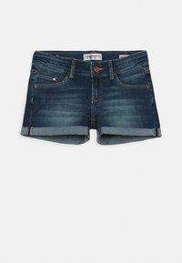 Vingino - DAMARA - Denim shorts - dark used - 0
