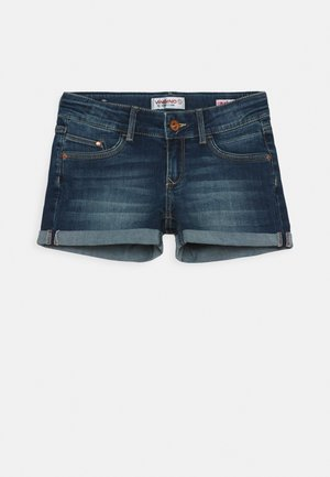 DAMARA - Denim shorts - dark used