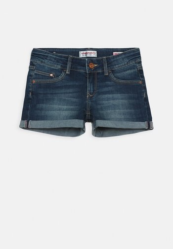 DAMARA - Denim shorts - dark used