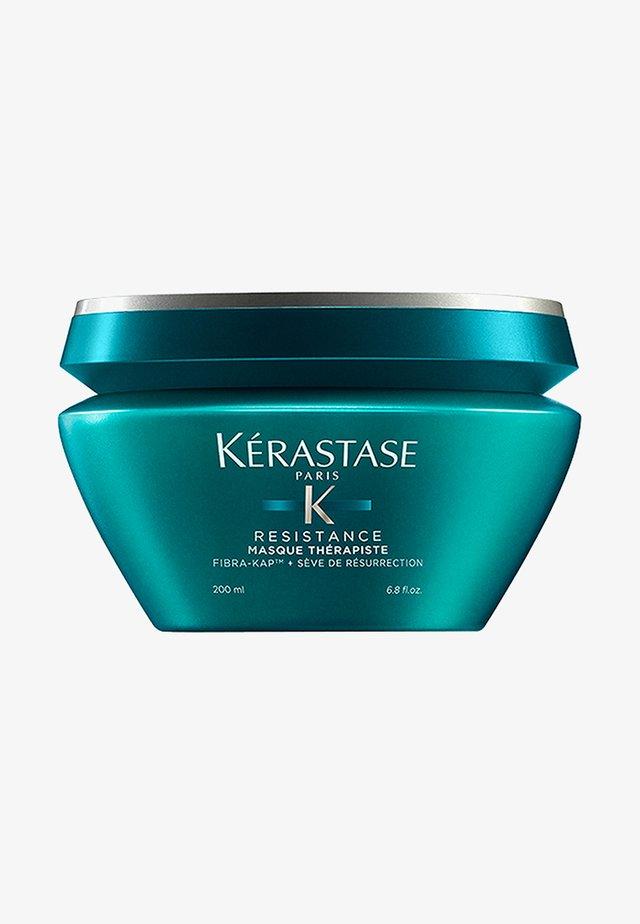 RÉSISTANCE MASQUE THÉRAPISTE PFLEGE-MASKE - Haarmasker - -