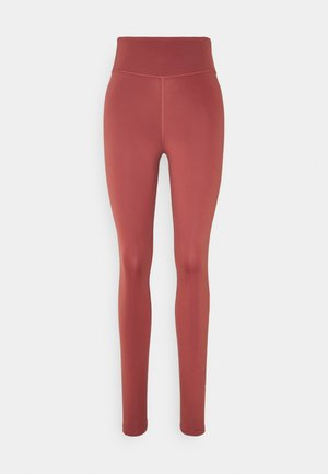 ONE GOOD - Legginsy - claystone red/metallic gold