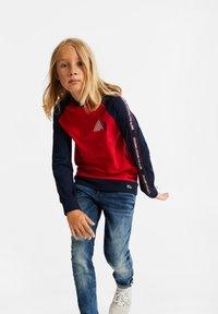 WE Fashion - 2-PACK - Langærmede T-shirts - red - 1