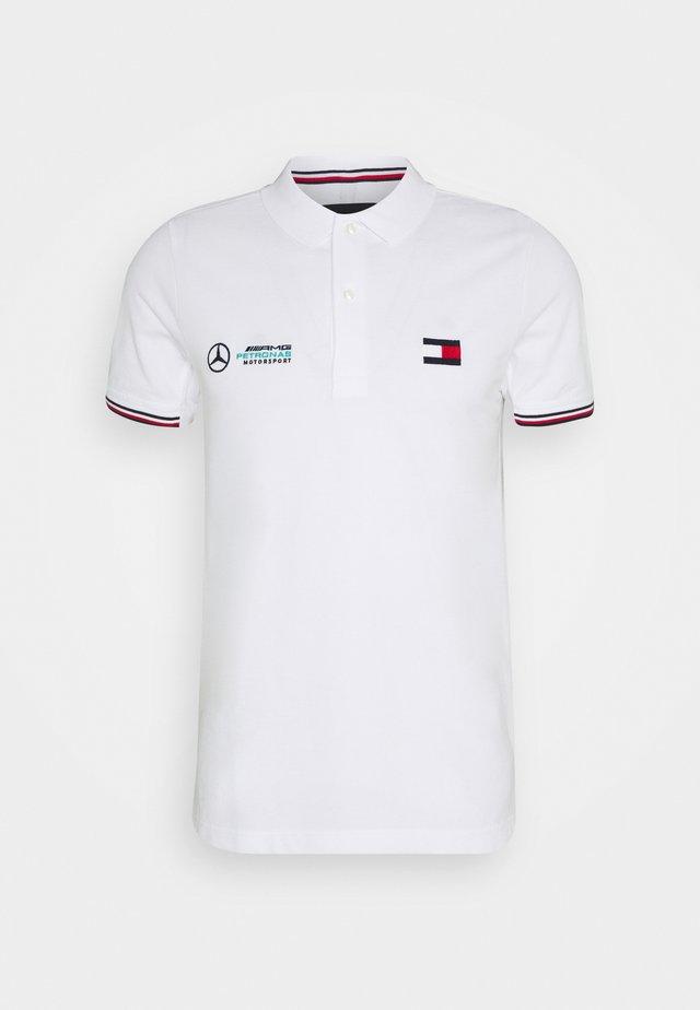 LOGO - Koszulka polo - white