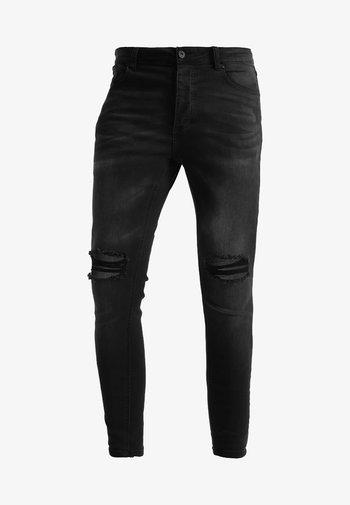 SOROLLO - Skinny džíny - black