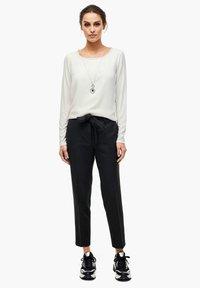 s.Oliver BLACK LABEL - Long sleeved top - soft white - 2