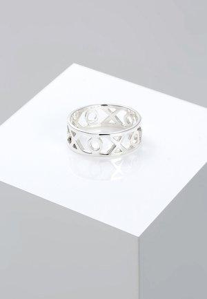 XOXO - Ring - silver-coloured