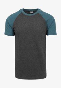 dark gray mottled/blue gray