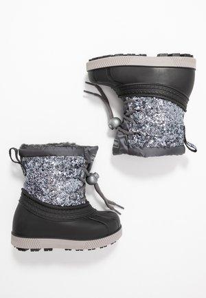 Zimní obuv - silver/black