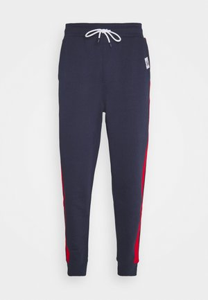 MIX MEDIA BASKETBALL PANT - Tracksuit bottoms - twilight navy