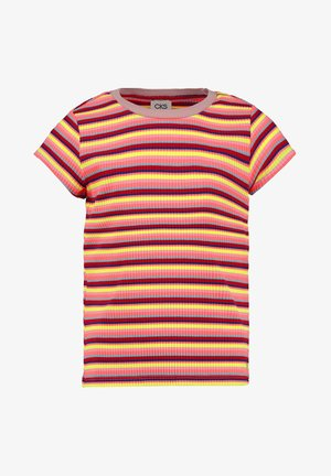 T-shirt print - neon red
