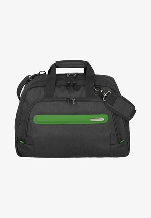 Weekend bag - anthracite/green