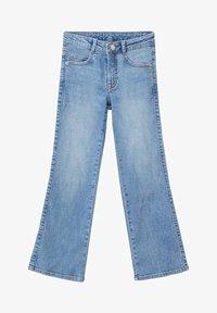 Mango - FLARE - Flared Jeans - středně modrá - 0
