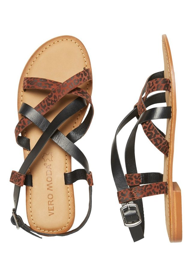 Sandalias - tobacco brown