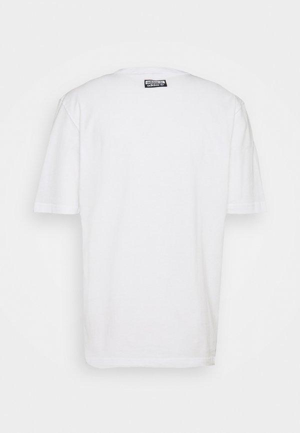 adidas Originals RATEUNION TEE - T-shirt z nadrukiem - white/biały Odzież Męska UREH