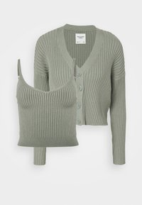 Abercrombie & Fitch - BRAMI TWINSET  - Cardigan - olive green - 0