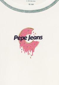 Pepe Jeans - ALICE - Top sdlouhým rukávem - off white - 3