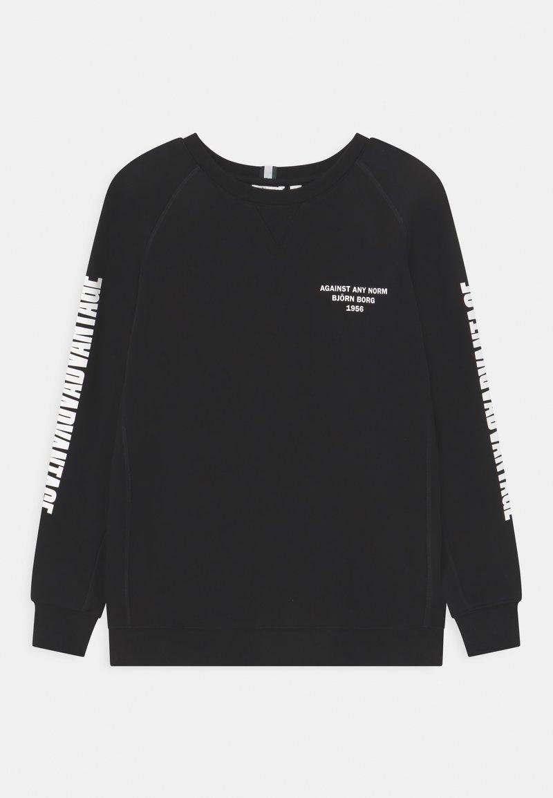 Björn Borg - SPORT CREW UNISEX - Sweatshirt - black beauty