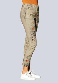 Alba Moda - Trousers - beige,pfirsich,schwarz - 0