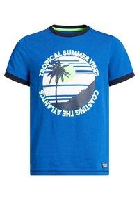 WE Fashion - T-shirts print - blue - 5