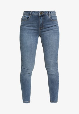 PETITES MIDWASH SHAPING JEAN - Jeans Skinny Fit - mid wash denim