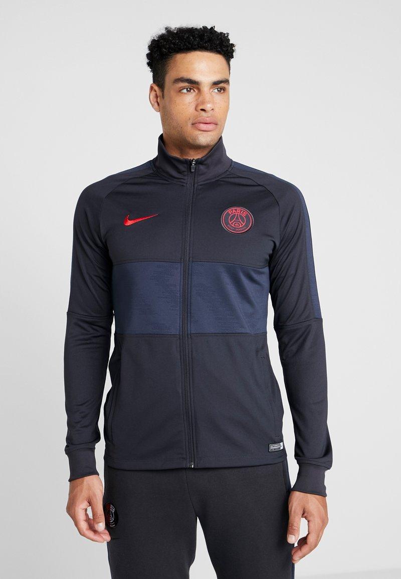 Nike Performance - PARIS ST GERMAIN DRY  - Klubbkläder - oil grey/obsidian/university red