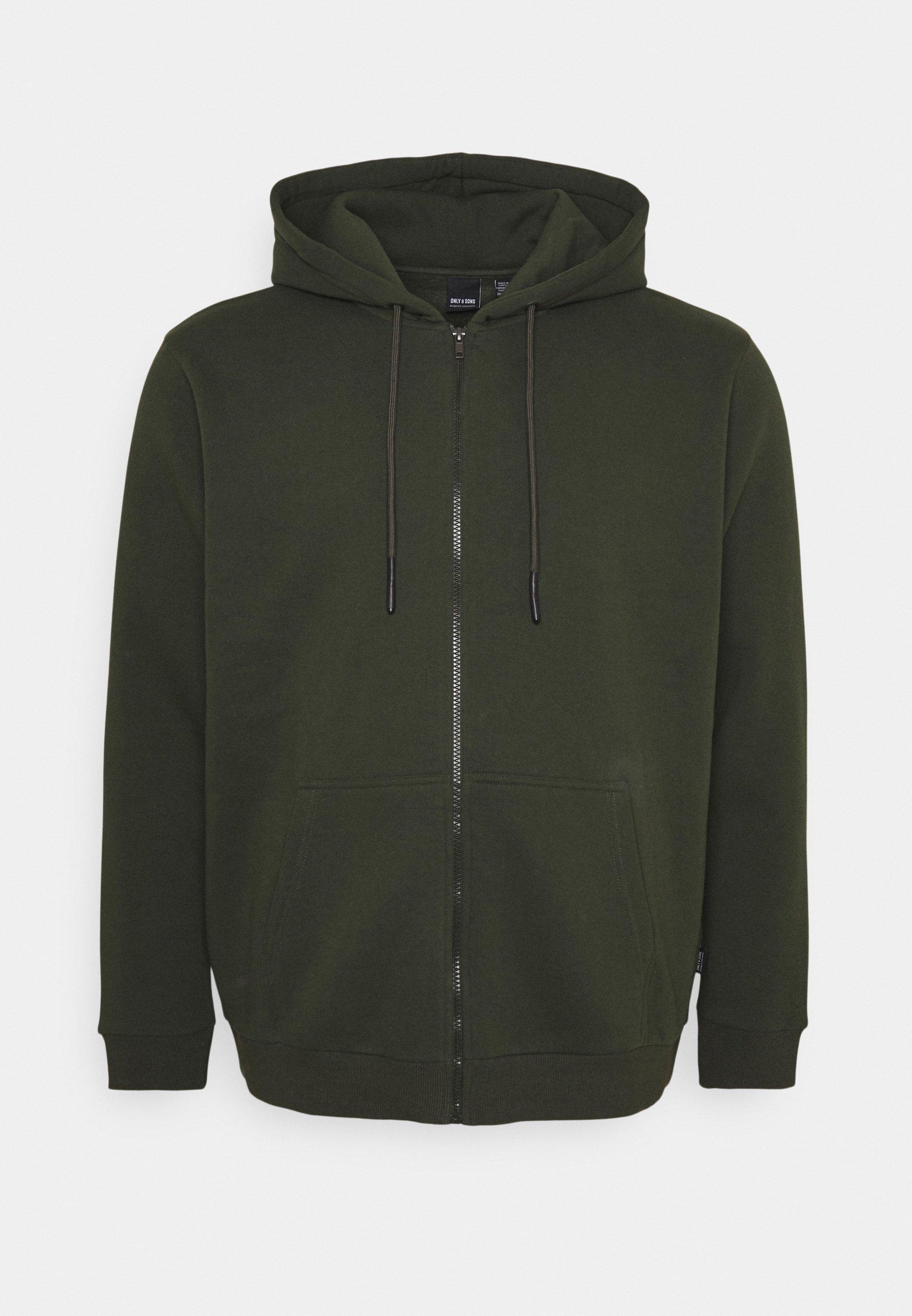 Men ONSCERES LIFE ZIP HOODIE - Zip-up sweatshirt